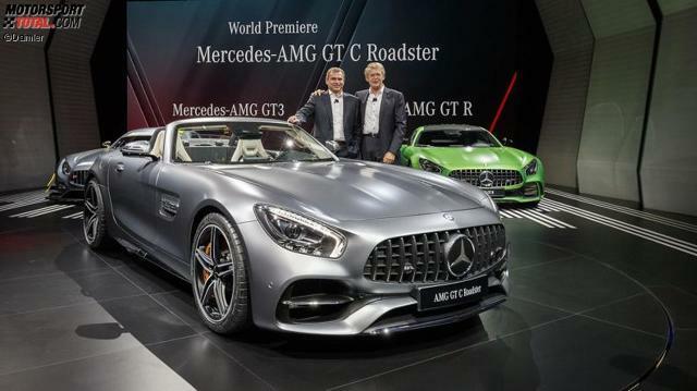 Autosalon Paris 2017 Mercedes Benz Media Night Mit Premiere Des Amg Gt C Roadster