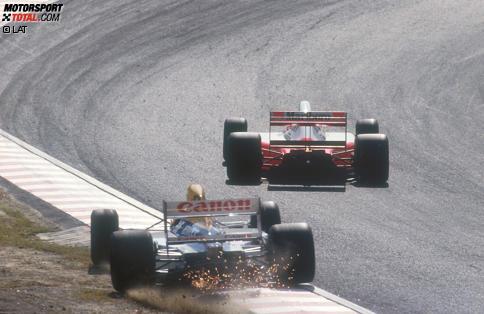 Das Drama von Suzuka 1991 und andere Triumphe und Tragödien beim Grand Prix von Japan: Jetzt durch 21 historische Highlights klicken!