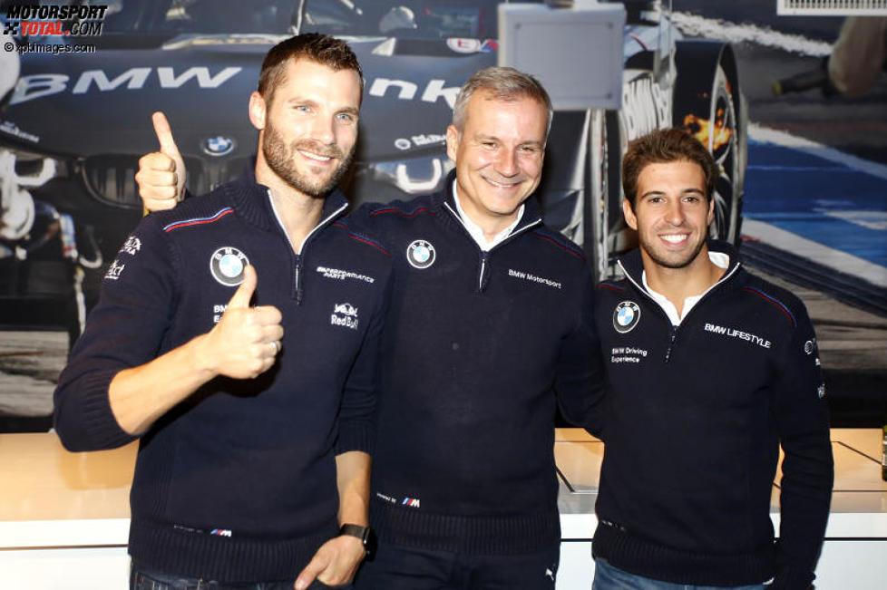 Martin Tomczyk (Schnitzer-BMW) und Jens Marquardt