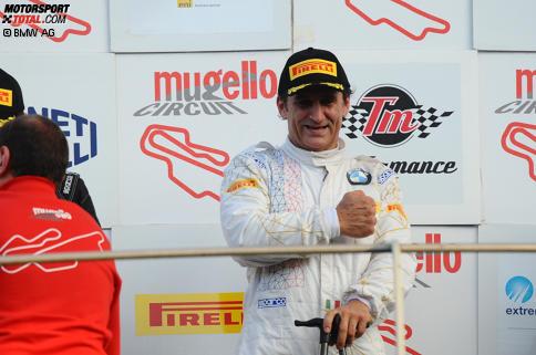 Alessandro Zanardi triumphierte bei seinem ersten Rennen nach über einem Jahr.