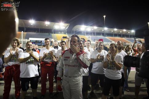 Yvan Muller sagte der WTCC Lebewohl - und die verabschiedete ihn würdig. Wir zeigen die emotionalsten Bilder.