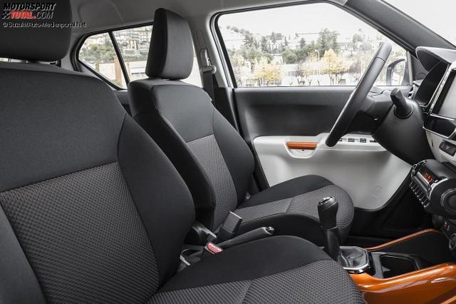 Innenraum Des Suzuki Ignis 2017