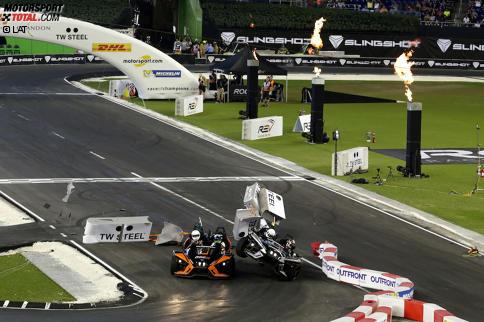 Pascal Wehrlein crasht mit einem Fan an Bord