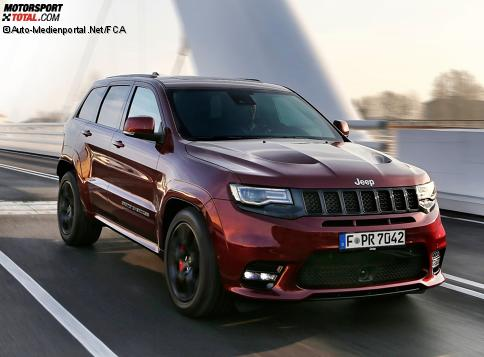 news jeep grand cherokee srt 2017 vorstellung preis. Black Bedroom Furniture Sets. Home Design Ideas