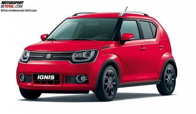 Suzuki Ignis 2017 Farben Fervent Red