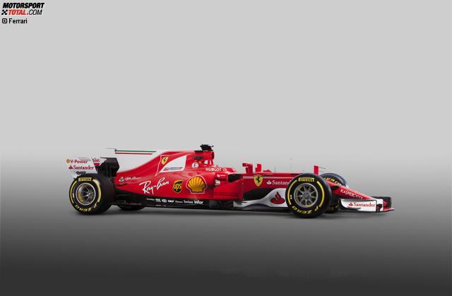 Formel 1 Autos 2017 Technische Daten Des Ferrari Sf70 H