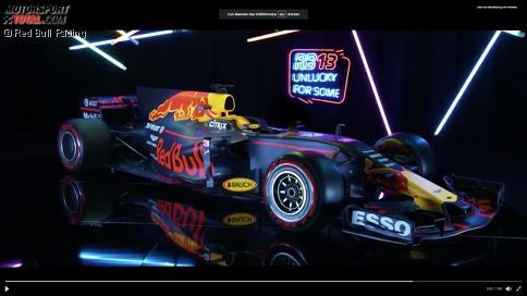 Der Red Bull RB13 verblüfft mit einem riesigen Nasenloch an der Spitze