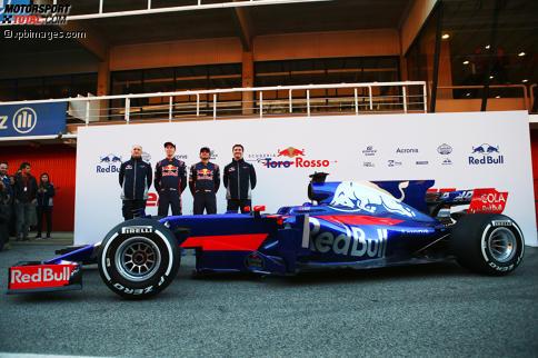 Als letztes Team hat Toro Rosso seinen Formel-1-Boliden für 2017 vorgestellt.