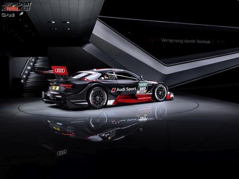Der neue Audi RS 5 DTM wurde auf dem Genfer Automobilsalon präsentiert