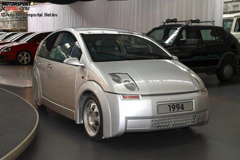 VW-Museum Wolfsburg: Audi A2-Prototyp CC1 (1994)