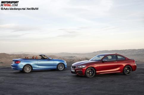 BMW 2er Coupé und Cabrio Facelift 2017
