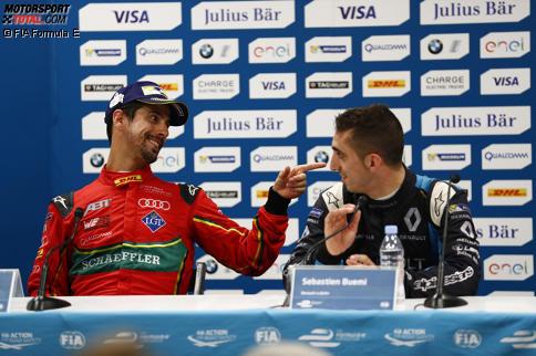 Formel-E-Lauf: Nick Heidfeld in Monaco Dritter