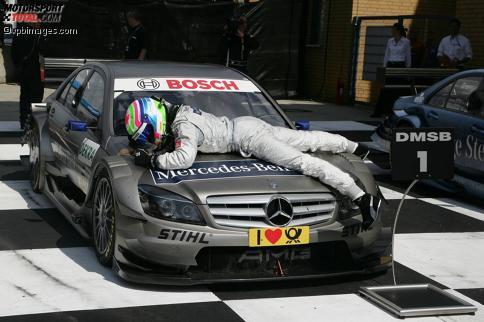 Bruno Spengler ist einer der Sieger auf dem Lausitzring