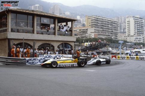 Lange sah in Monaco 1982 alles nach einem Renault-Sieg aus, doch am Ende überschlugen sich die Ereignisse. Jetzt das legendäre Wochenende Revue passieren lassen und durchklicken!