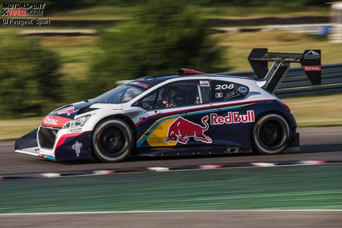 Sebastien Loeb fuhr nach vier Jahren die ersten Runden im Peugeot 208 Pikes Peak.