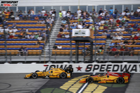 Graham Rahal (Rahal) und Ryan Hunter-Reay (Andretti)