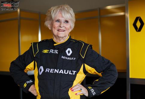 Renault feiert sein 40-jähriges Jubiläum mit Rosemary Smith und einer ganz besonderen Testfahrt