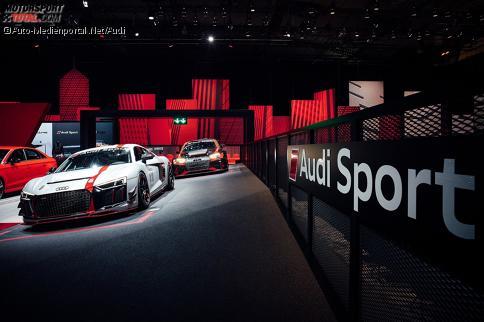 Audi Sport-Teile für den TT und R8