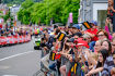 Fahrerparade in Spa