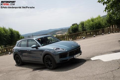 Neuer Porsche Cayenne 2018 (Prototyp)