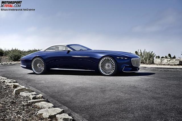 vision mercedes-maybach 6 cabriolet: die yacht für die straße