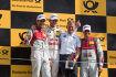 Mike Rockenfeller (Phoenix-Audi) und Marco Wittmann (RMG-BMW)