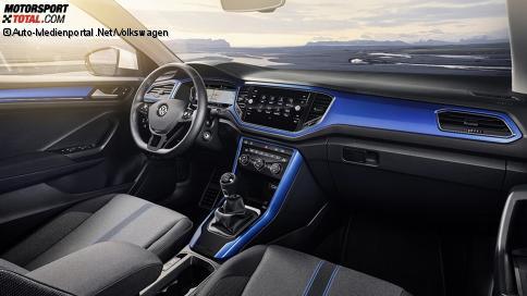 Auto cockpit vw  Innenraum und Cockpit des Volkswagen T-Roc 2017 - VW T-Roc 2017 ...