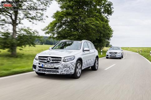 Erprobungsfahrzeug Mercedes-Benz GLC F-Cell