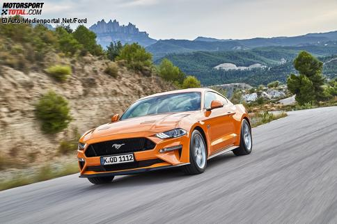 Ford Mustang GT 2018 Facelift