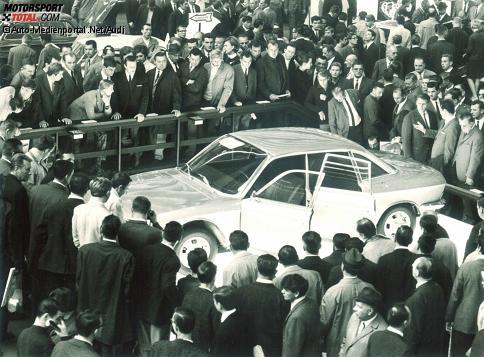NSU Ro 80: Premiere auf der IAA 1967