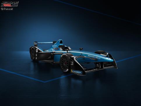 Mit dieser Lackierung startet Renault-e.dams in der neuen Formel-E-Saison.