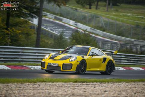 Der Porsche 911 GT2 RS ist das schnellste Serienauto auf der Nordschleife.