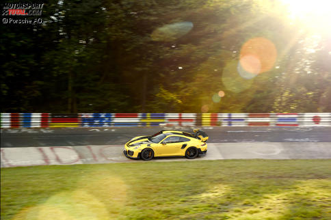 Mit 6:47.3 Minuten unterbot Porsche den bestehenden Rekord um fast fünf Sekunden.
