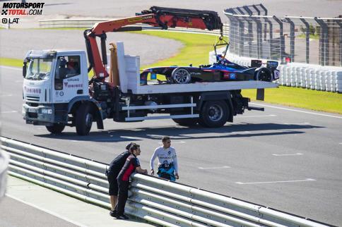 Sebastien Buemi (Renault e.dams) und James Rossiter