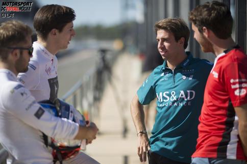 Sam Bird (DS Virgin), Alex Lynn (DS Virgin) und Antonio Felix da Costa (Andretti)