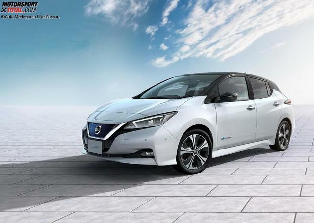 Nissan Leaf 2018 Vorstellung Preis Reichweite Daten