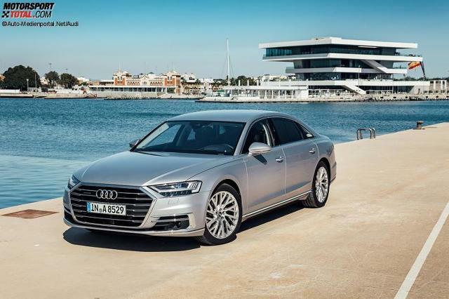 Vorstellung Audi A8 2018 Info Zu Motoren Interieur Austattung