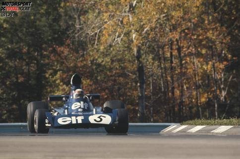 """Jackie Stewarts tragisches letztes Rennen: Sein """"Ziehsohn"""" Cevert verunglückt tödlich. Nicht das einzige denkwürdige Formel-1-Rennen in den USA, wie unsere Fotostrecke zeigt."""