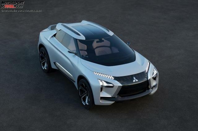 mitsubishi e-evolution concept: elektroauto mit künstlicher intelligenz