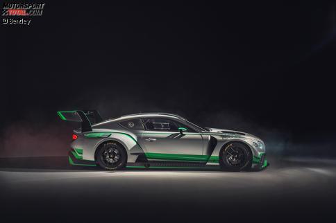 Der neue GT3-Rennwagen basiert auf der neuen Straßenversion des Continental GT.