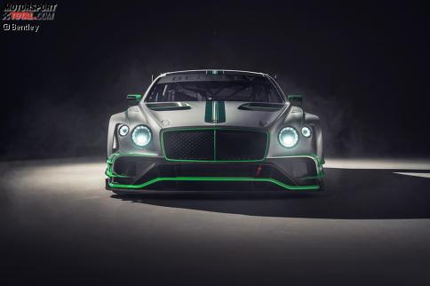 So sieht die zweite Generation des Bentley Continental GT3 aus.