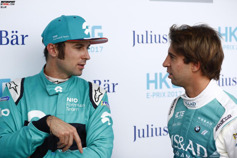 Luca Filippi (NIO) und Antonio Felix da Costa (Andretti)