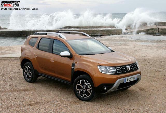 Dacia Duster 2018 Bilder Infos Zu Preis Motoren Kofferraum