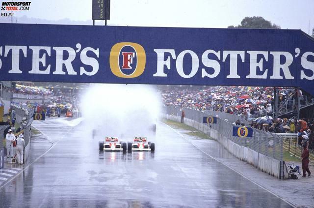 1989: Ein Australien-Grand-Prix für die Ewigkeit