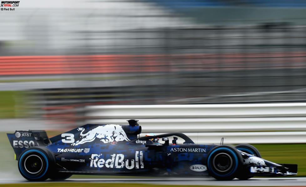 Daniel Ricciardo (Red Bull) im RB14