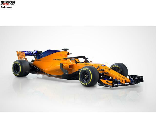 mclaren präsentiert orangen mcl33: zum erfolg verdammt