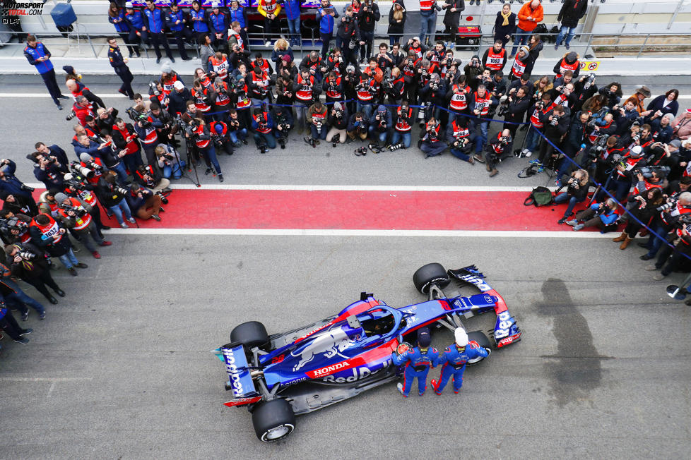 Brendon Hartley (Toro Rosso) und Pierre Gasly (Toro Rosso)