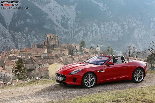 jaguar f type p300 2018 cabrio coupe preis motor bilder. Black Bedroom Furniture Sets. Home Design Ideas