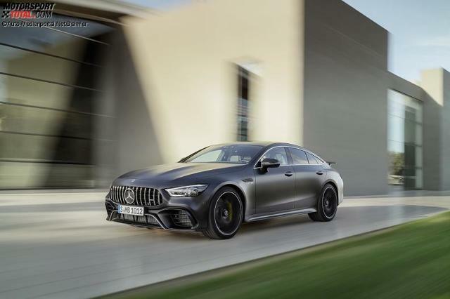 Genf 2018 Der Mercedes Amg Gt Wird Viertürig