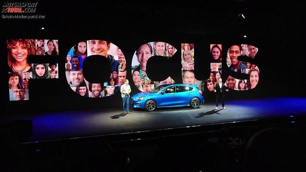 Weltpremiere des Ford Focus 2018 in London
